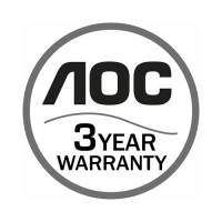 AOC 3 Years Warranty