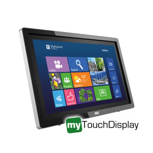 "23.6"" AOC Touch-Screen Monitor I2472PWHUT - Main"