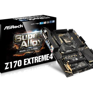 ASRock Z170 Extreme4 Motherboard - Main