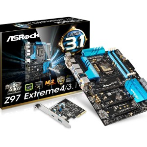 ASRock Z97 Extreme4/3.1Mobo - Main