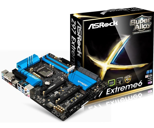 ASRock Z97 Extreme6 Motherboard - Main
