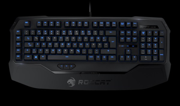 ROCCAT® Ryos MK Pro – Mechanical Gaming Keyboard With Per-key Illumination