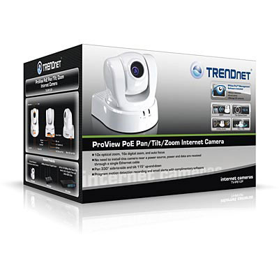 TRENDnet TV-IP612P Hi-Resolution PTZ Cam - Boxed