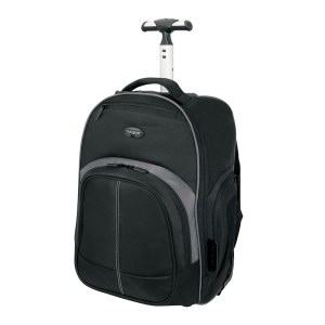 Targus TSB750AP Compact Rolling Backpack - Handle