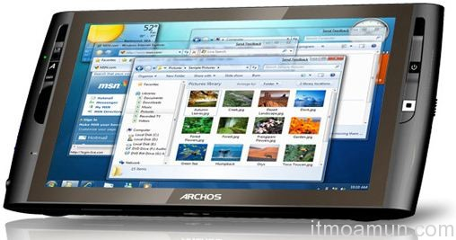 Archos 9 Windows 7 Starter