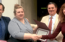 Kristen Treglia receives recognition