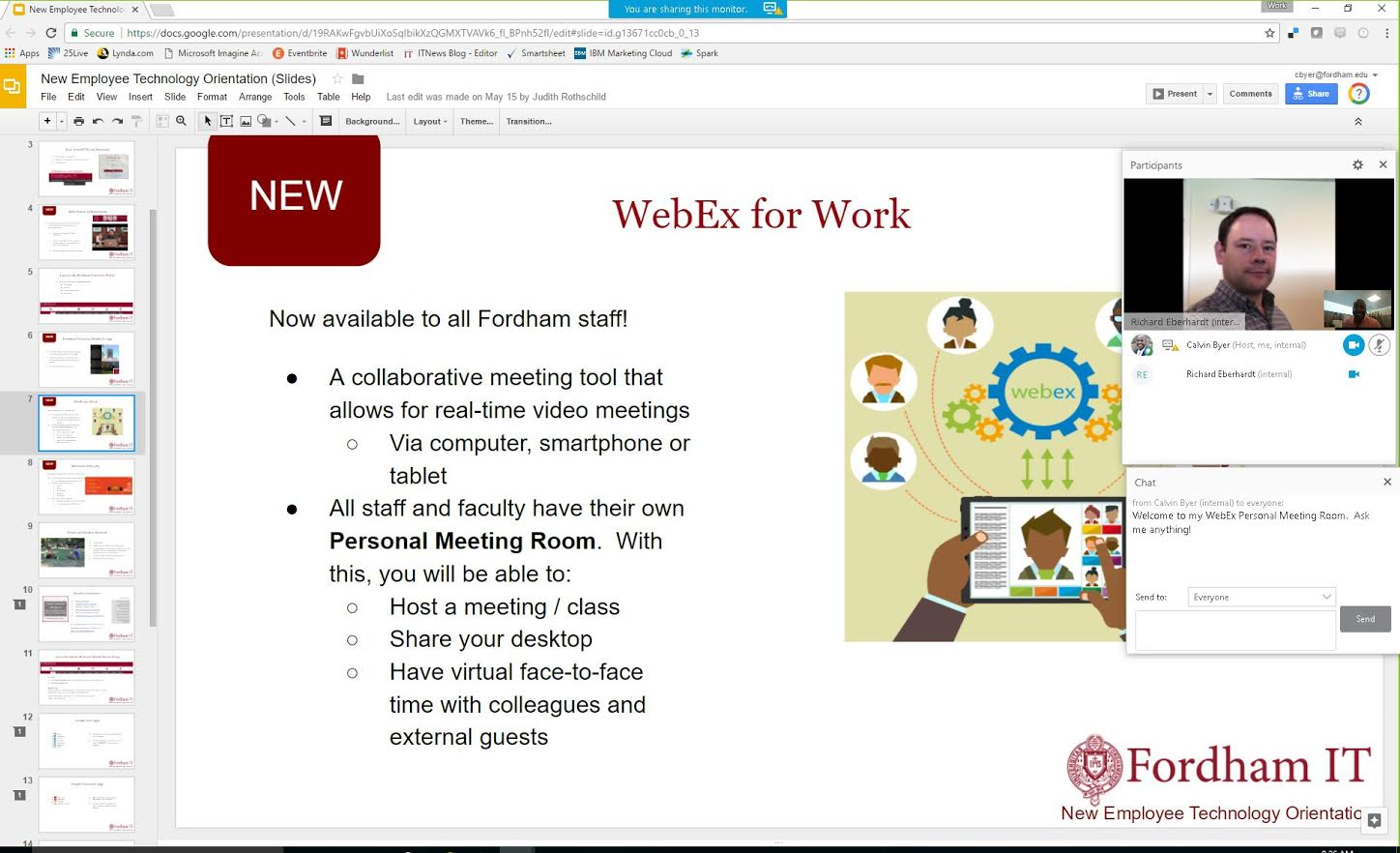 Have You Tried WebEx for Collaborative Online Meetings?