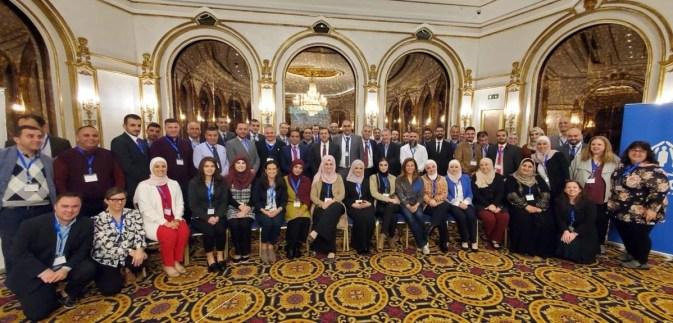 IDEL team and Jordanian educators; group photo