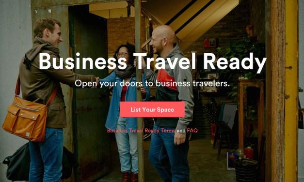 Η Airbnb στα επαγγελματικά ταξίδια