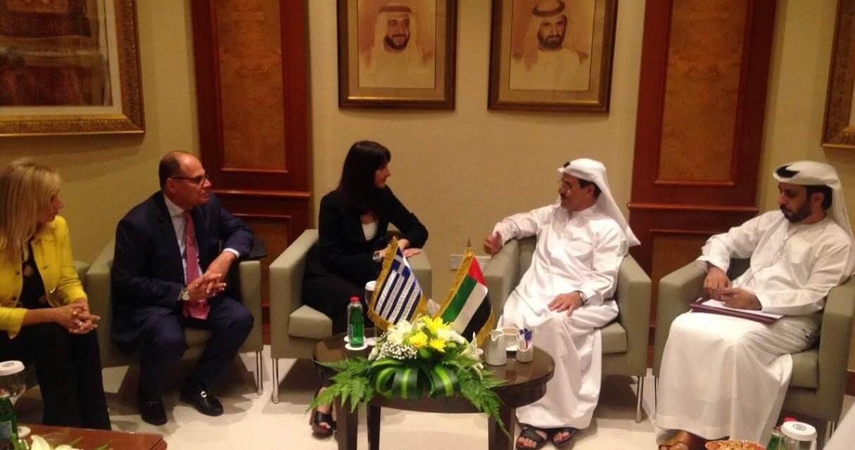 Συναντήσεις της Αν. Υπουργού Τουρισμού κας Έλενας Κουντουρά στο Ντουμπάι