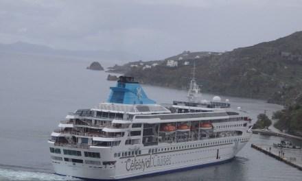 Νέα και δελεαστικά πακέτα κρουαζιέρας από την Celestyal Cruises, στην Πάτμο έκανε ποδαρικό το Celestyal Nefeli