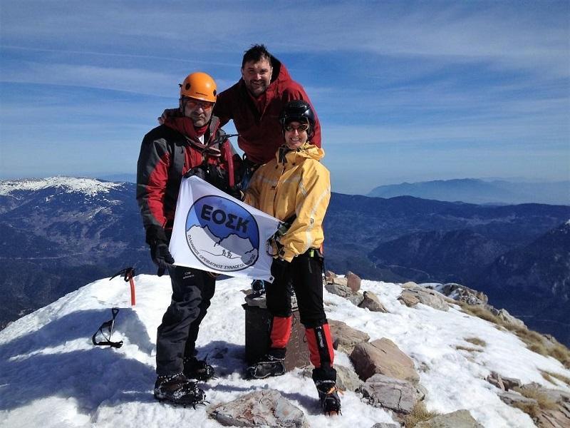 """Στην κορυφή """"Κόρακας"""" ο ορειβατικός της Καρδίτσας"""