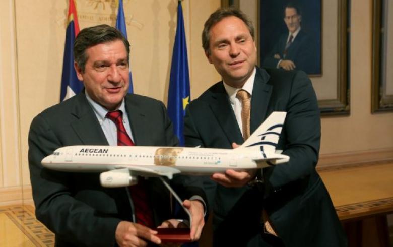Aegean Airlines και Δήμος Αθηναίων στην μάχη για την προβολή της Αθήνας