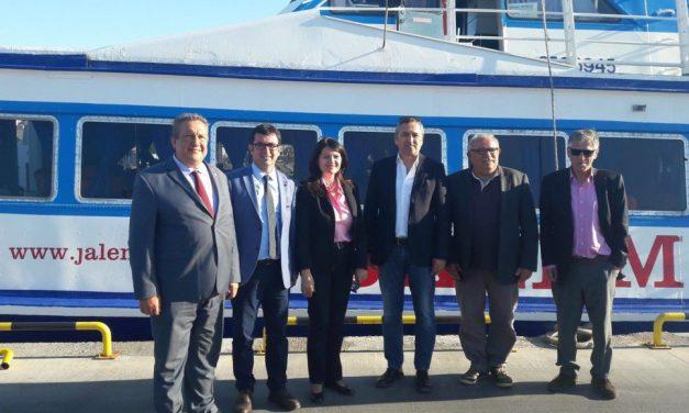Νέα ακτοπλοϊκή σύνδεση Μυτιλήνη-Δικελί