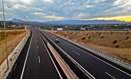 Μ. Πέμπτη στην κυκλοφορία η Ολυμπία οδός