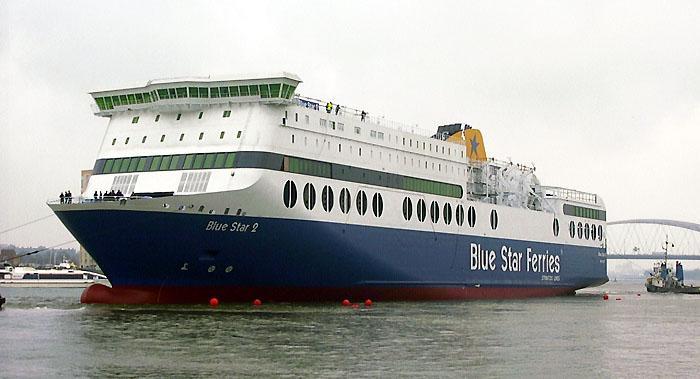 Νέο δρομολόγιο της Blue Star στην Σάμο