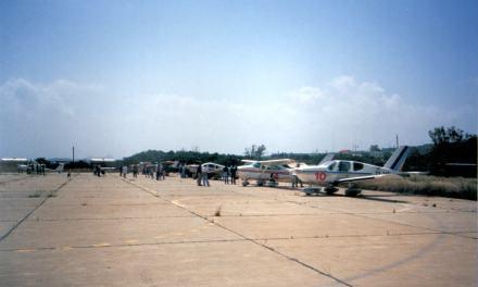 Αγώνες αεραθλημάτων στο ιστορικό αεροδρόμιο Μάλεμε