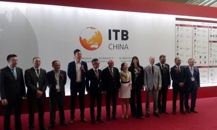 H Υπουργός Τουρισμού Έλενα Κουντουρά εγκαινίασε ως επίτιμη προσκεκλημένη την κορυφαία τουριστική έκθεση ITB China στη Σαγκάη