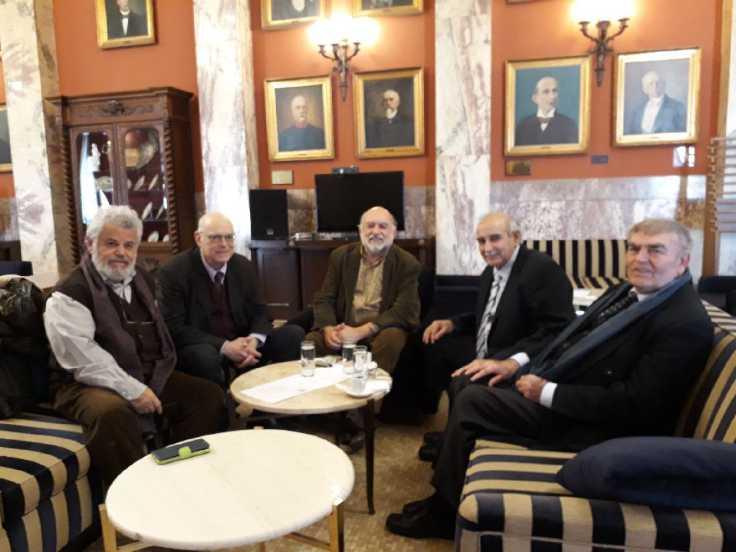 Συνάντηση των βουλευτών Κυκλάδων του ΣΥΡΙΖΑ με την Ομοσπονδία Συλλόγων Μικρών Κυκλάδων