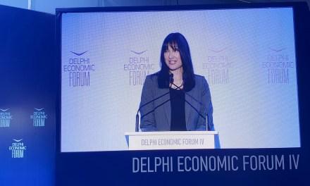Το στρατηγικό σχεδιασμό για την επόμενη μέρα του ελληνικού τουρισμού παρουσίασε η Υπουργός Τουρισμού Έλενα Κουντουρά στο Delphi Economic Forum και τις πρωτοβουλίες που έχει αναλάβει σε ευρωπαϊκό επίπεδο για μια ολοκληρωμένη ευρωπαϊκή τουριστική στρατηγική