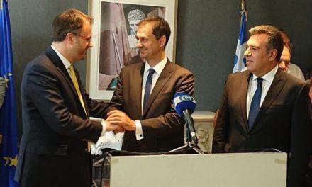 «Επίσκεψη Υφυπουργού Τουρισμού, Γενικού Γραμματέα Υπουργείου Τουρισμού και Προέδρου του ΕΟΤ στην Κέρκυρα»