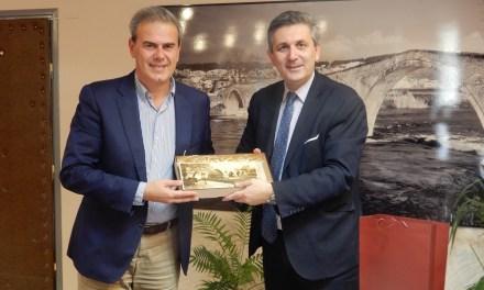 Επίσκεψη του Γενικού Γραμματέα του ΕΟΤ στον Δήμαρχο Αρταίων.
