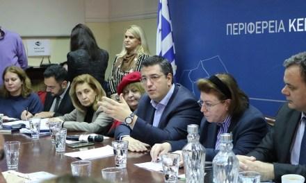 Δέκα εκατομμύρια ευρώ για 17 νέα έργα πολιτισμού στην Περιφέρεια Κεντρικής Μακεδονίας ανακοίνωσαν ο Περιφερειάρχης Απόστολος Τζιτζικώστας και η Υπουργός Πολιτισμού Λίνα Μενδώνη