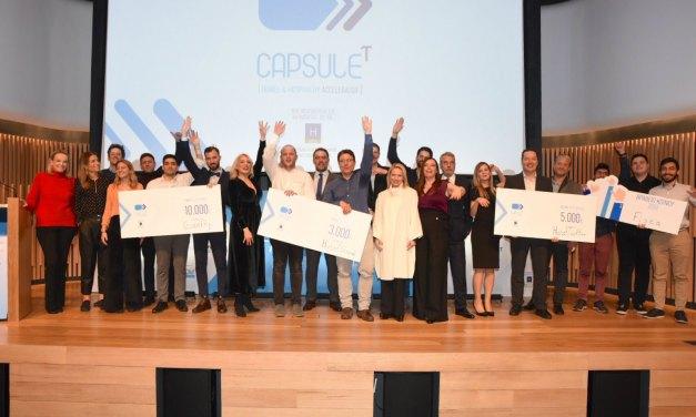 Με την τελετή βράβευσης ολοκληρώθηκε ο 1ος κύκλος του Προγράμματος Tου CapsuleT