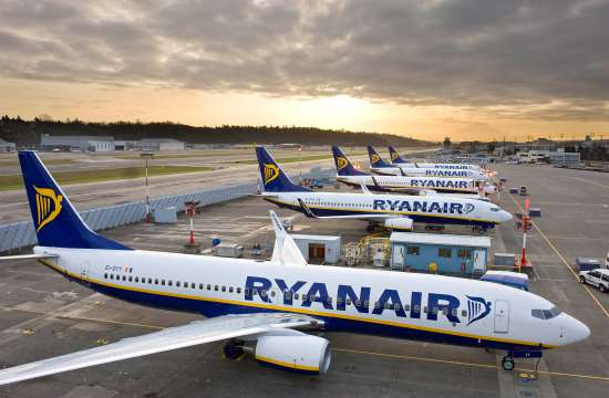 H Ryanair επιβραδύνει την ανάπτυξη της το 2020 και κατηγορεί την Boeing