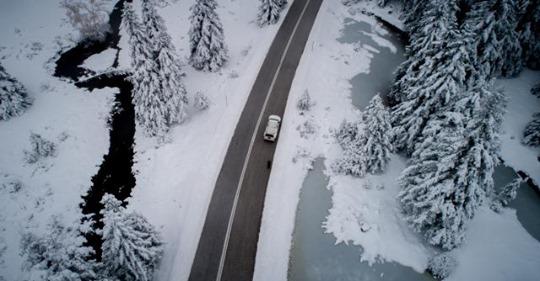 Έπεσαν τα πρώτα χιόνια στη Βόρεια Ελλάδα (Video)