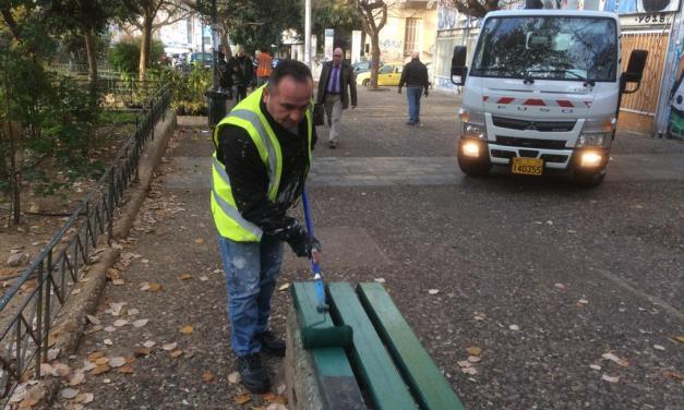Δράσεις καθαριότητας σε Κυψέλη, Κουκάκι, Παγκράτι από τον Δήμο Αθηναίων   – Κώστας Μπακογιάννης: «Η ποιότητα ζωής αρχίζει από την γειτονιά»