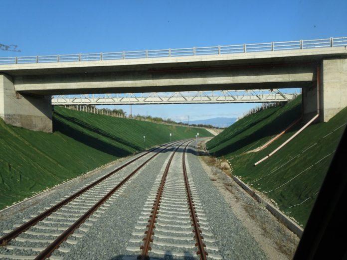 Προς χρήση η σιδηροδρομική γραμμή υψηλών ταχυτήτων Κορίνθου – Πάτρας