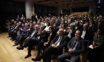 Παρουσίαση του νέου οπτικοακουστικού υλικού και της στρατηγικής της Περιφέρειας Αττικής για την τουριστική προβολή της Αττικής 2020 από τον Περιφερειάρχη Αττικής Γ. Πατούλη, στο Μουσείο Ακρόπολης