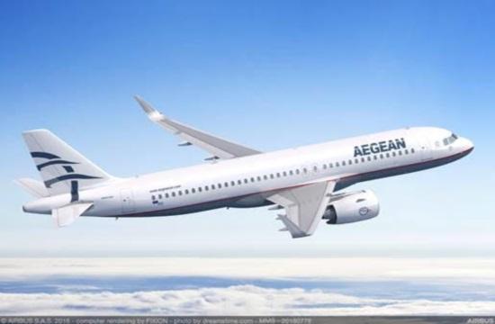 Τρία νέα αεροσκάφη παραλαμβάνει σήμερα η Aegean | Στην εκδήλωση παραλαβής ο Κυριάκος Μητσοτάκης