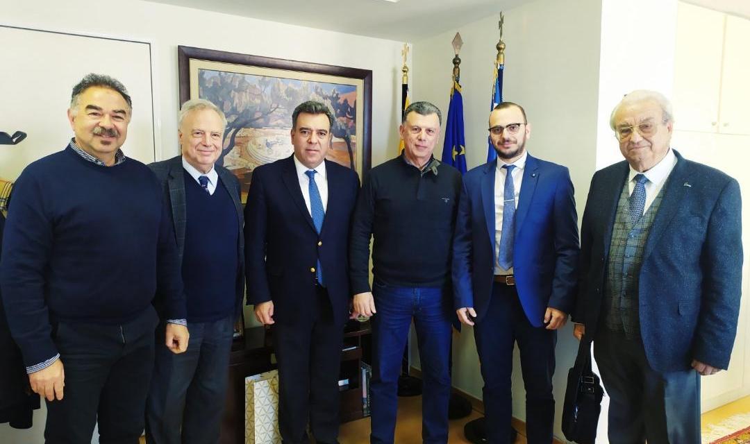 «Η ανάπτυξη του θαλάσσιου τουρισμού και της κρουαζιέρας, το θέμα της συνάντησης του Υφυπουργού Τουρισμού κ. Κόνσολα με τους Δημάρχους Κω, Πάτμου και Αστυπάλαιας»