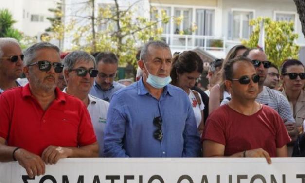 Δυναμική συγκέντρωση των εργαζόμενων στον Τουρισμό σην Κρήτη