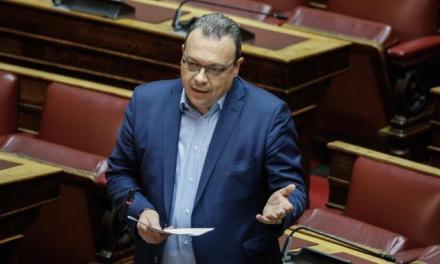 Σ.Φάμελλος: Απουσιάζει το υπουργείο Περιβάλλοντος και από το νομοσχέδιο για τον Τουρισμό