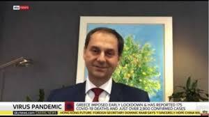 Συνέντευξη Υπουργού Τουρισμού Χάρη Θεοχάρη στο SkyNews(video)