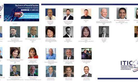 Προσκεκλημένη του Διεθνούς Φορέα Τουρισμού και Επενδύσεων ITIC               Η ΕΛΕΝΑ ΚΟΥΝΤΟΥΡΑ