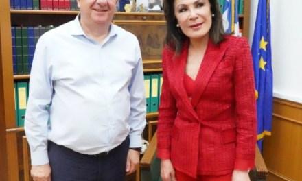 Συνάντηση Αρναουτάκη- Αγγελοπούλου για τα 200 χρόνια από την έναρξη της Ελληνικής Επανάστασης