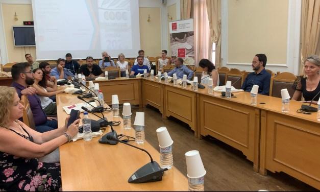 Εκδήλωση βράβευσης των διακριθέντων εταιρειών στον 6ο Παγκρήτιο Διαγωνισμό Ελαιόλαδου που συνδιοργάνωσαν Περιφέρεια Κρήτης, Αγροδιατροφική Σύμπραξη και οι ελαιοκομικοί φορείς του νησιού