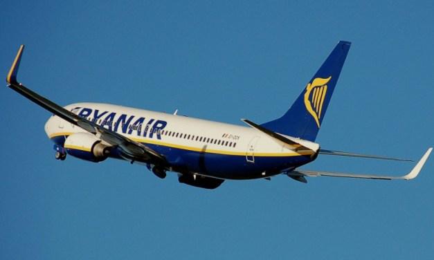 Ryanair : Στο διπλάσιο η επιβατική κίνηση τον Ιούλιο του 2021