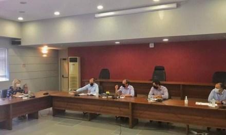 Στη σύσκεψη με τον Υπουργό Υποδομών και Μεταφορών η Δήμαρχος Χαλκιδέων