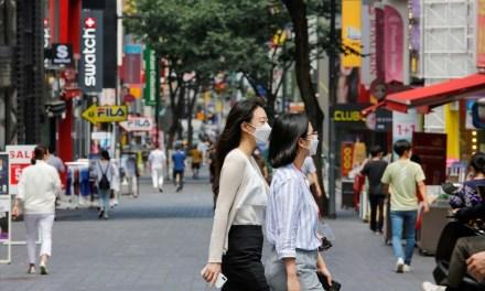 Υποχρεωτική η μάσκα και σε εξωτερικούς χώρους στη Σεούλ