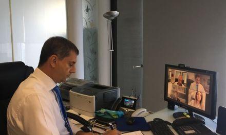 Σειρά επαφών με φορείς του τουρισμού είχε το τελευταίο διήμερο ο Υπουργός Τουρισμού κ. Χάρης Θεοχάρης ενόψει της επικείμενης παρουσίας του στο «Thessaloniki Helexpo Forum»