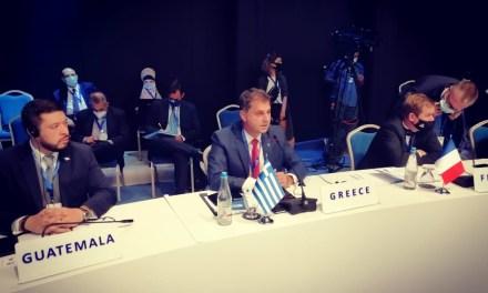 Ο Υπουργός Τουρισμού κ. Χάρης Θεοχάρης στη Σύνοδο του Εκτελεστικού Συμβουλίου του ΠΟΤ στην Τιφλίδα