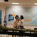 """Επίσκεψη της Προέδρου της Εθνικής Επιτροπής """"Ελλάδα 2021"""" στην Περιφέρεια Ιονίων Νήσων"""
