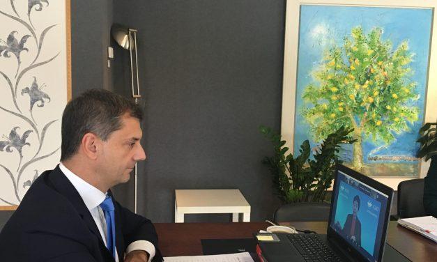 Πρόταση να εφαρμόζονται διεθνώς τα rapid test αντιγόνου για τον Covid-19 παρουσίασε στον Π.Ο.Τ. ο Υπουργός Τουρισμού κ. Χάρης Θεοχάρης