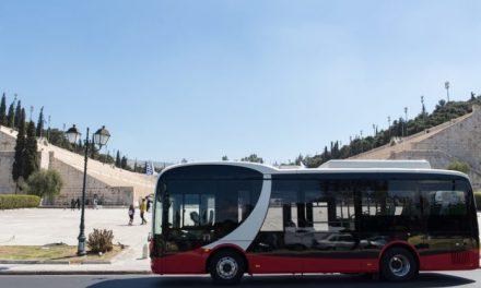 Δοκιμαστική κυκλοφορία ηλεκτρικού λεωφορείου