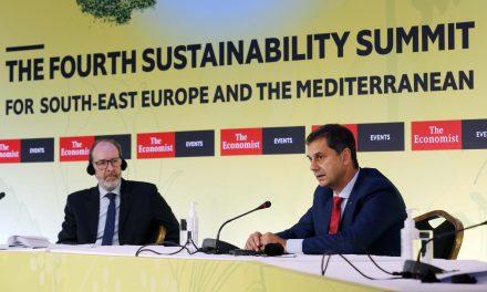 Ο Υπουργός Τουρισμού κ. Χάρης Θεοχάρης στο 4ο Συνέδριο του Economist για τη Βιώσιμη Ανάπτυξη